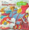 Sesame Street/Going Places (Golden Super Shape Book) - Joe Ewers
