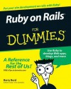 Ruby on Rails for Dummies - Barry Burd