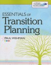 Essentials of Transition Planning - Paul Wehman