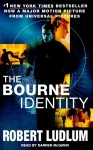 The Bourne Identity (Jason Bourne Book #1) - Robert Ludlum, Darren Mcgavin