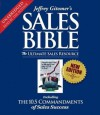 The Sales Bible: The Ultimate Sales Resource (Audio) - Jeffrey Gitomer