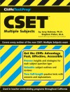 Cliffstestprep Cset: Multiple Subjects - Jerry Bobrow, Stephen Fisher