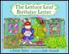 The Lettuce Leaf Birthday Letter - Linda Taylor, Julie Durrell