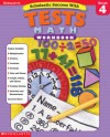 Scholastic Success With: Tests: Math Workbook: Grade 4 - Terry Cooper