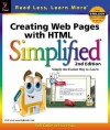 Creating Web Pages with HTML Simplified (Simplified (Wiley)) - Ruth Maran
