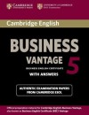 Cambridge English Business 5 Vantage Student's Book with Answers - Cambridge ESOL