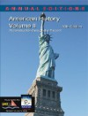 Annual Editions: American History, Volume 2, 16/E - Robert James Maddox