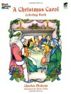 A Christmas Carol Coloring Book (Dover Holiday Coloring Book) - Charles Dickens, Marty Noble