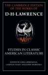 Studies in Classic American Literature (The Cambridge Edition of the Works of D. H. Lawrence) - D. H. Lawrence, Ezra Greenspan, Lindeth Vasey, Professor John Worthen