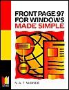 FrontPage 97 Made Simple - Nat McBride