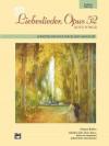 Liebeslieder, Opus 52 (Love Songs): Conductor/Piano, Sheet - Johannes Brahms, John Paton