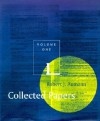 Collected Papers, Vol. 1 - Robert J. Aumann, Robert J. Auman