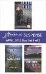 Love Inspired Suspense April 2015 - Box Set 1 of 2: Duty Bound GuardianTargetedPresumed Guilty - Terri Reed, Becky Avella, Dana R. Lynn