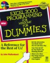 Excel 2000 Programming For Dummies - John Walkenbach, Walkenbach