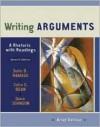 Writing Arguments: A Rhetoric with Readings - John D. Ramage, John C. Bean, June Johnson