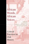 African Words, African Voices: Critical Practices in Oral History - Luise S. White, Stephan F. Miescher, David William Cohen