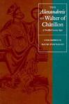 """The """"Alexandreis"""" of Walter of Chatilon: A Twelfth-Century Epic - Walter of Chatillon, Walter, Walter of Chatillon"""