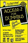 Access 2 for Dummies Quick Reference - Stuart Stuple