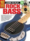 10 Easy Lessons Rock Bass [With CD and DVD] - Peter Gelling, Ltp Publications