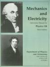 Mechanics and Electricity: Laboratory Manual for Physics 158 - Pearson Custom Publishing
