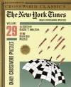 New York Times Daily Crossword Puzzles, Volume 29 - Eugene T. Maleska