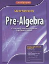 Pre-Algebra Study Notebook - Glencoe/McGraw-Hill