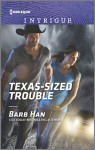 Texas-Sized Trouble (Cattlemen Crime Club) - Barb Han