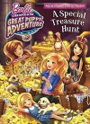 A Special Treasure Hunt (Barbie and Her Sisters in The Great Puppy Adventure) (Full-Color Activity Book with Stickers) - Mary Man-Kong