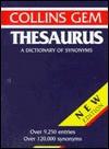 Collins Gem Thesaurus - Eugene Ehrlich