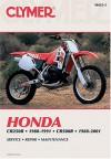 Honda: CR250R-1988-91, & CR500Rr 1988-01 (Clymer Motorcycle Repair) - Clymer Publications