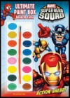 Marvel Superhero Squad: Action Ahead! Ultimate Paint Box Book to Color [With Paint Brush and Paint] - Dalmatian Press