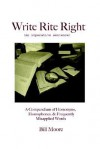 Write Rite Right: (An Imperative Sentence) - Bill Moore