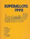 Superalloys, 1992 - D.L. Anton, S.D. Antolovich, R.W. Stusrud
