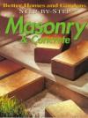 Step-By-Step Masonry & Concrete - Ben Allen