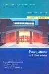 Foundations of Education - Houghton Mifflin Company