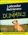 Labrador Retrievers For Dummies - Eve Adamson