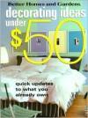 Decorating Ideas Under $50 - Vicki Christian