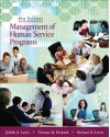 Management of Human Service Programs - Judith A. Lewis, Michael D. Lewis, Thomas R. Packard