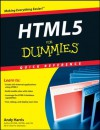 HTML5 For Dummies Quick Reference - Andy Harris