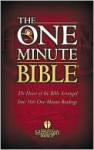 The One Minute Bible - Anonymous