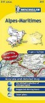 Michelin Map France: Alpes-Maritimes 341 - Michelin Travel Publications
