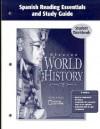 Glencoe World History Spanish Reading Essentials and Study Guide Student Workbook - Glencoe/McGraw-Hill