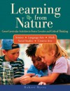 Learning from Nature: Cross-Curricular Activities to Foster Creative and Critical Thinking - Robert Myers