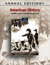 Annual Editions: American History, Volume 1, 19/E (Annual Editions American History) - Robert James Maddox