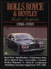 Rolls-Royce and Bentley 1980-1989 Gold Portfolio - R.M. Clarke