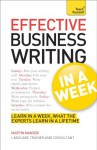 Effective Business Writing in a Week: Teach Yourself - Martin H. Manser
