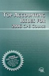 Top Accounting Issues For 2006 Cpe Course - CCH Editorial Staff Publication