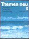 Themen neu, 3 Bde., Arbeitsbuch zu Band 3. Neue Rechtschreibung. - Heiko Böck, Jutta Müller