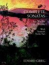 Complete Sonatas for Violin and Piano: With Separate Violin Part - Edvard Grieg
