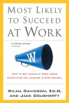 Most Likely to Succeed at Work: How to Get Ahead at Work Using Everything You Learned in High School - Wilma Davidson, Jack Dougherty